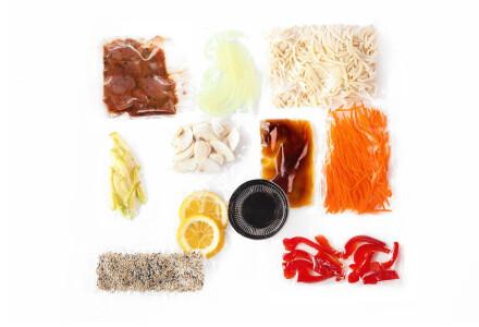 Food box  Локшина удон з телятиною фото 1