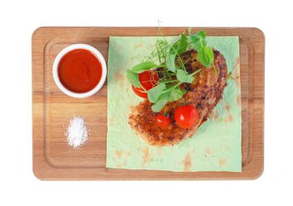 Стейк курячий маринований в ароматних травах  (гриль) фото 1