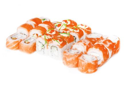 Замовляй Сет Шанхай і отримай Каліфорнію з соленим лососем у подарунок фото 1