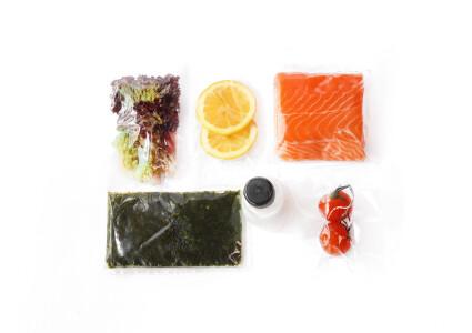 Food box  Філе лосося на шпинатній подушці фото 1