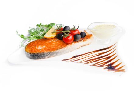Ніжний стейк лосося (гриль) фото 2
