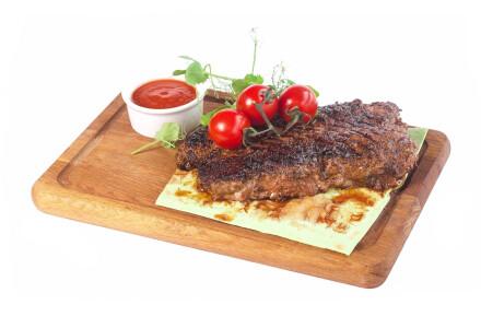 Соковитий стейк з телятини  (гриль) фото 2