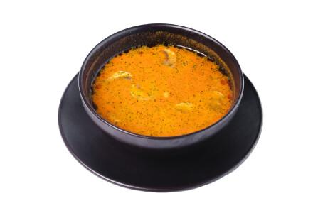 Суп Том-Ям з морепродуктами фото 1