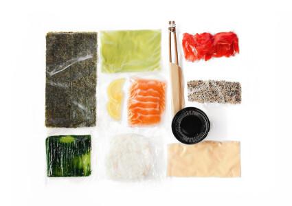 Food box  Каліфорнія з лососем фото 1