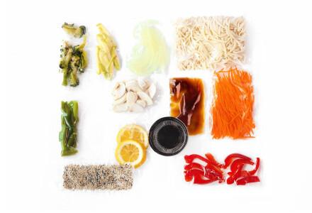 Food box  Локшина удон з овочами фото 1