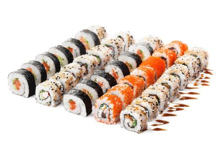 Замовляй Сет Якудза і отримай  Каліфорнію з соленим лососем у подарунок  фото 1