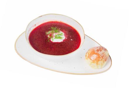 Червоний борщ з телятиною фото 2