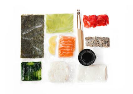 Food box  Каліфорнія з соленим лососем фото 1