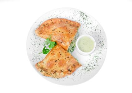 Пиріг зi шпинатом Вегетаріанський фото 1