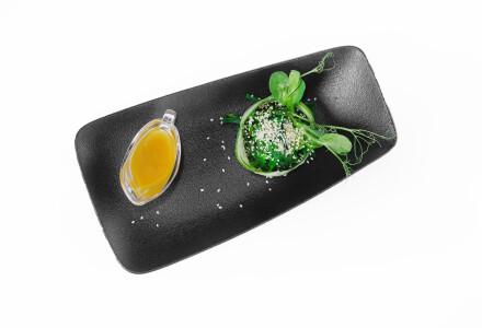 Салат хіяші вакаме з горіховим соусом фото 1