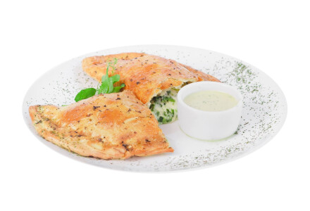 Пиріг зi шпинатом Вегетаріанський фото 2