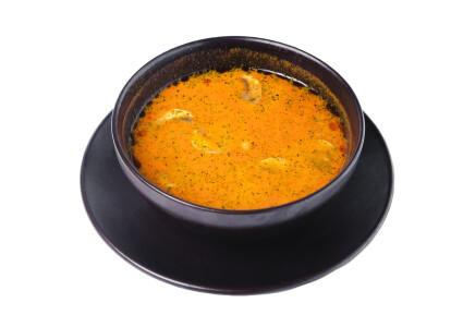 Суп Том-Ям з тигровою креветкою фото 1