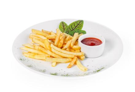 Картопля фрі зі спеціями фото 1