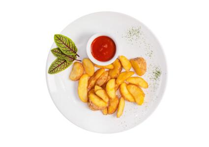 Картопля по-селянськи фрі фото 1