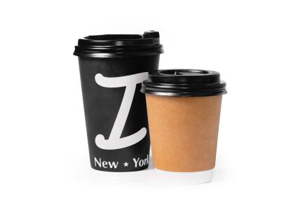 Кава лате з сиропом фото 1