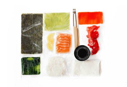 Food box  Філадельфія з соленим лососем фото 1