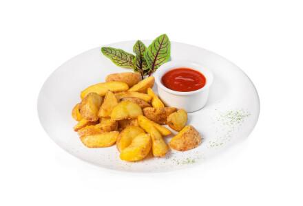 Картопля по-селянськи фрі фото 2