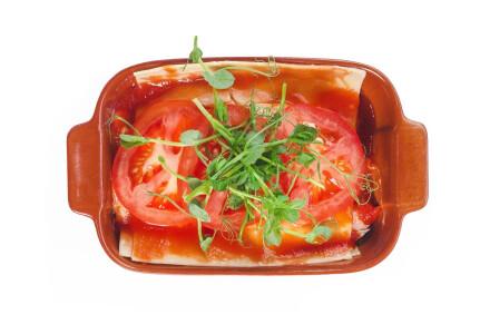 Лазанья з овочами фото 1