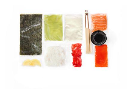 Food box  Дабл з лососем фото 1