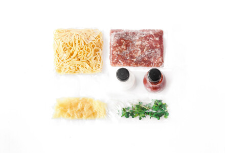 Food box  Паста Болоньєзе фото 1