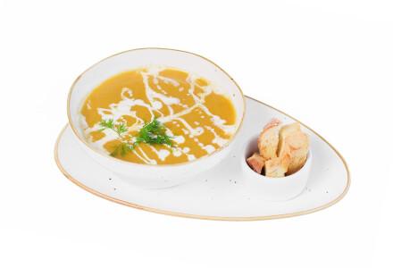 Крем-суп із грибів з крутонами та вершками фото 2