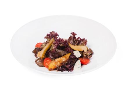Салат з карамелізованою грушею фото 2